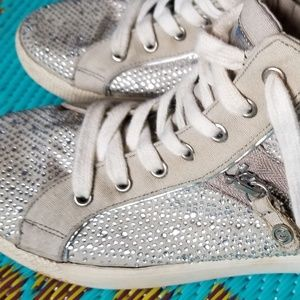 Guess rhinestone hightops